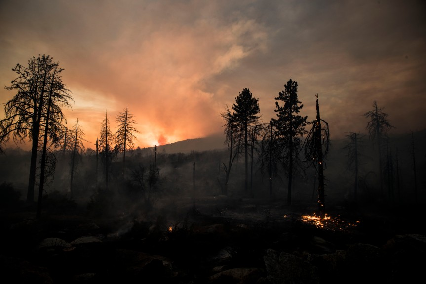 Outside this mountain getaway town, a wildfire burned 13,000 acres last summer. The effects still reverberate a yearlater.